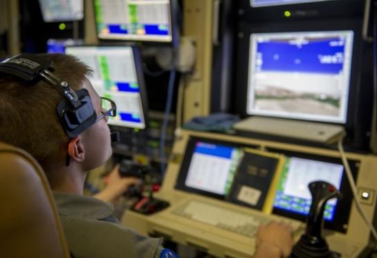 MQ-9 Reaper Airmen Arrive at Shaw