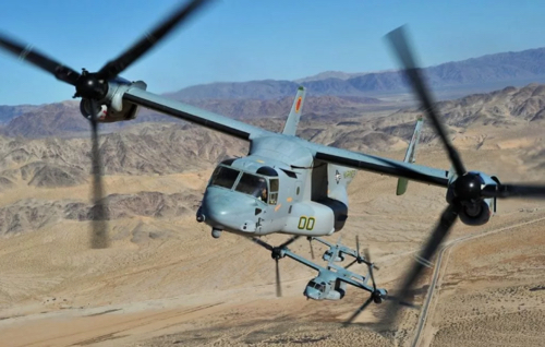 Meggitt PLC Awarded $73-million Dollar Contract by Bell Textron Inc for the Supply of Composite Ice Protection Components to the V-22 Osprey