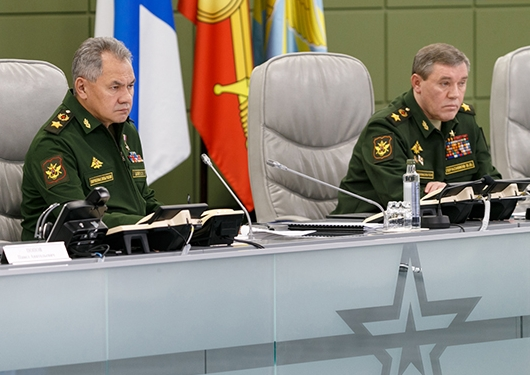 National Centre for State Defence Control Hosts Military Acceptance Day Chaired by Russian Minister of Defence