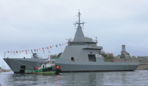 Naval Group Launches the A.R.A. Piedrabuena, Second Argentinian Offshore Patrol Vessel