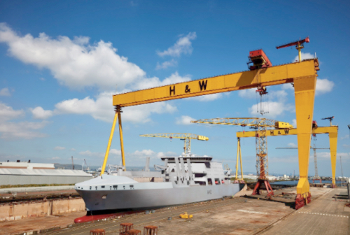 Navantia Signs Exclusive Collaboration Agreement with British Shipyard for Projects in UK