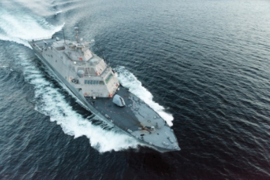 Lockheed Martin and Fincantieri Marinette Marine Deliver Future USS Little Rock to U.S. Navy