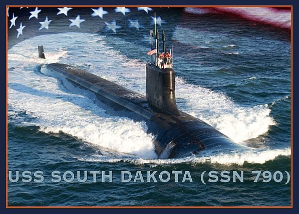 Navy to Christen Submarine South Dakota