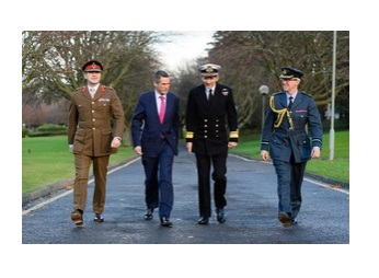 New Defence Secretary Recognises Scots Defence Role