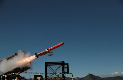 New MARTE ER Missile on Target In Second Test Firing