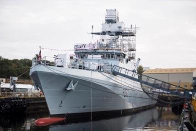 New Navy Ship Named in Glasgow