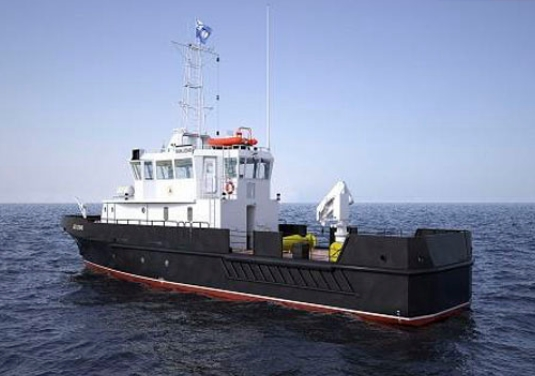 Newest Large Hydrographic Boat Aleksander Evlanov Floated Out for Russian Navy