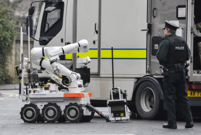 Northrop Grumman Awarded Support Contract from UK MOD for CUTLASS Explosive Ordnance Disposal Unmanned Ground Vehicle