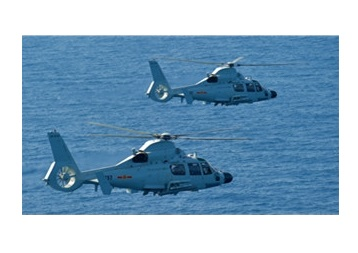 PLA Navy Tests Ship-Borne Choppers in S. China Sea Targets