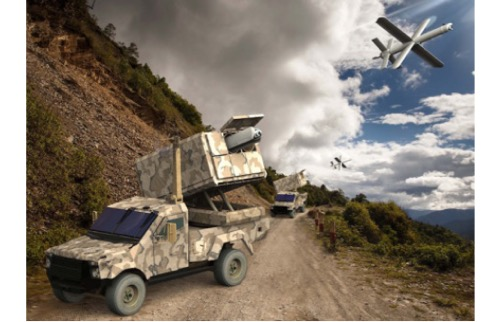 Paris Air Show 2019: UVision Will Unveil the Hero-400EC's Multi-Canister Launcher