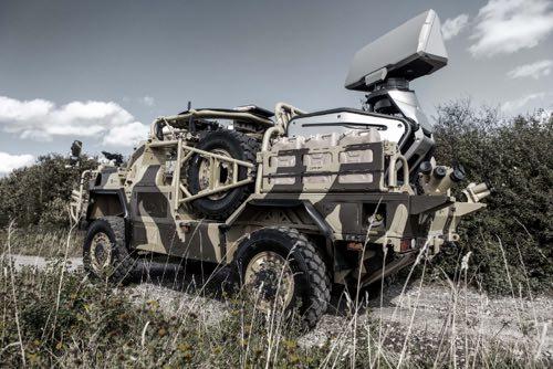 Production Giraffe 1X Radar Comes to DSEI