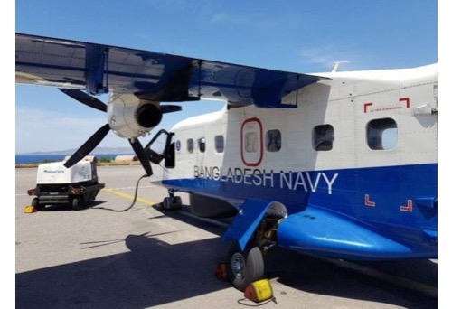 RUAG Welcomes Dornier 228 Aircraft from Bangladesh Navy's for 72-Month Inspection