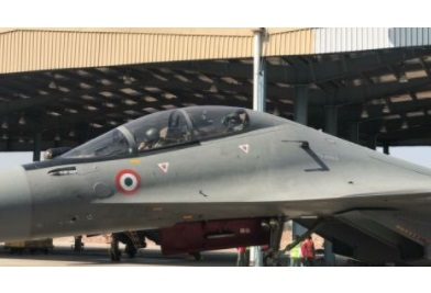 Raksha Mantri Takes to Skies in an IAF Su-30 MKI