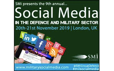 Registration opens for Social Media in the Defence and Military Sector 2020