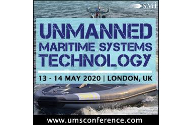 Registration opens for the 4th Annual Unmanned Maritime Systems Technology Conference in London