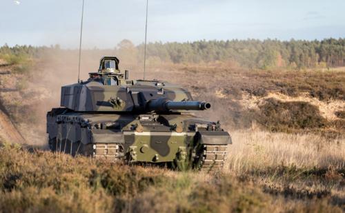 Rheinmetall Modernizing the UK's Main Battle Tank Challenger 2 Fleet