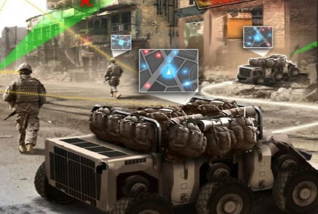 Robots, Railguns, Lasers to Team with Soldiers on Battlefield