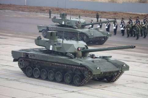 Russian T-14 Armata Tanks Tested in Syria
