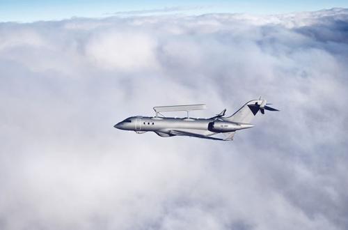 Saab Delivers 3rd GlobalEye