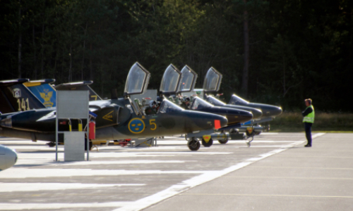 Saab Signs Support Agreement for SK60