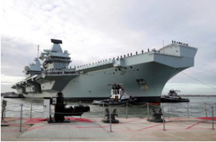 Scottish Yard Awarded HMS Queen Elizabeth Contract