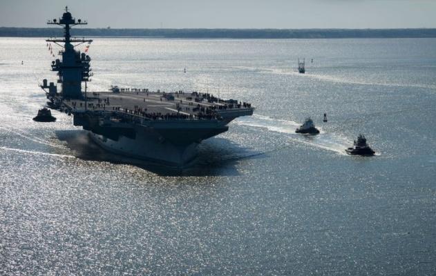 Senators Urge Mattis Not to Delay Shock Test on Costly Carrier