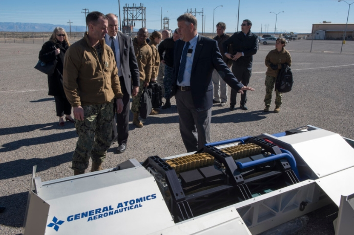 Senior DoD Official Discusses Future of Directed Energy Weapons