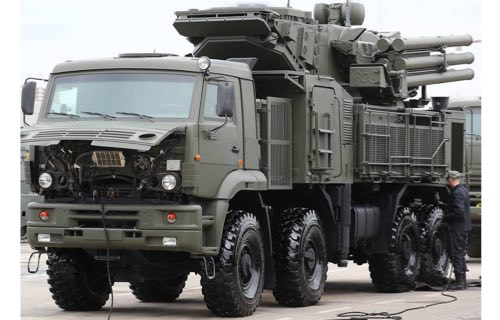 Serbia Orders Pantsyr-S Air Defense System from Russia