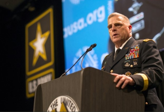 Soldier Lethality, Mobile Networks Key for Army Future Readiness, Chief of Staff Says