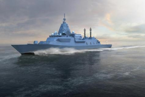 Steel Contract Marks Next Step in Frigate Program