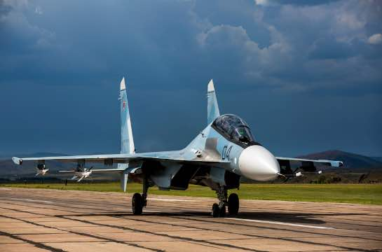 Su-30SM Aircraft to Enter Air Squadron of Western Military District to Complete Rearmament of Fighter Regiment