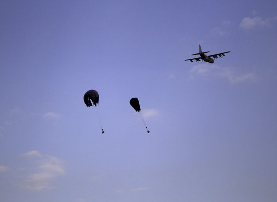 Successful Drop: US Army Soldiers Test Low-Cost Parachute System