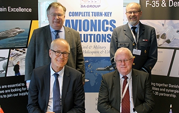 Terma and Scandinavian Avionics Team Up to Form Avionics Test Center Denmark