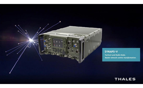 Thales Shows the Performance of its Synaps Radio Family to the Spanish Armed Forces