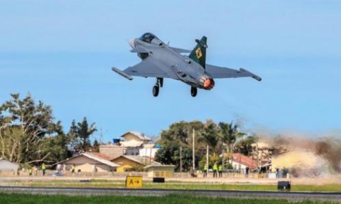 The First Brazilian Gripen Has Flown in Brazil