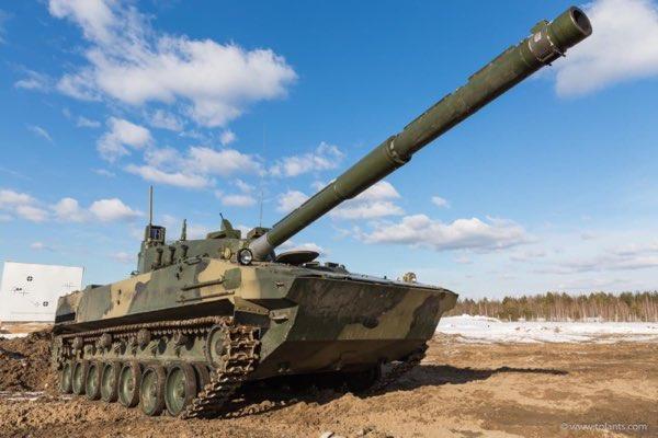 The Light Amphibious Tank Sprut-SDM1 Has Successfully Passed Testing