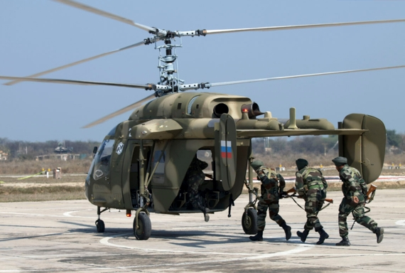 The Russian Helicopters Holding Intends to Participate in the Tender of the Indian Navy