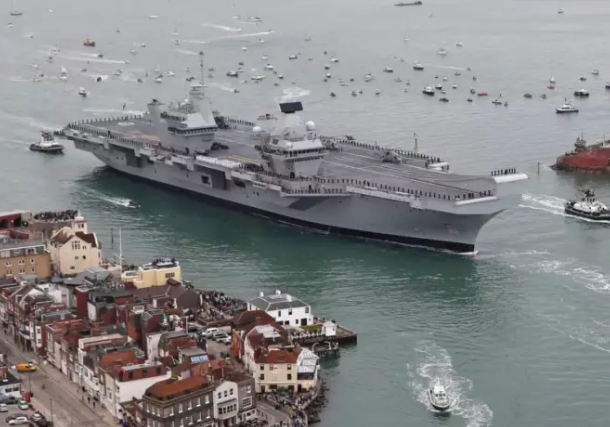 Trials Still 'On Track' Despite HMS Queen Elizabeth Sprinkler Problem
