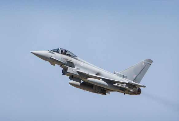 UK Royal Air Force Hails Eurofighter Capability Improvements to Create 'World's Most Potent Fighter'