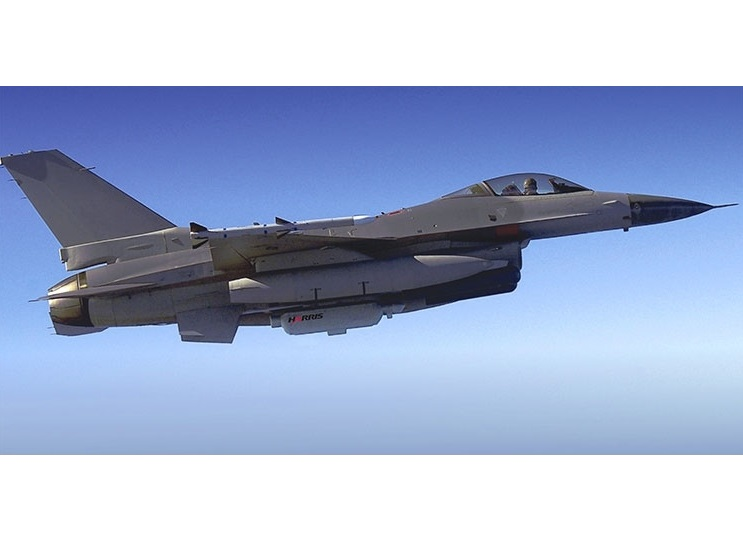 US Air Force Selects Harris Corporation for International F-16 Electronic Warfare System Support Program