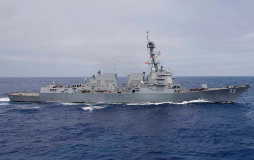 US Destroyer Crossed Course of Russian Navy Ship In Arabian Sea, Defense Ministry Says
