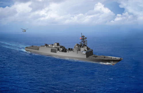 US Navy Awards Guided Missile Frigate (FFG(X)) Contract