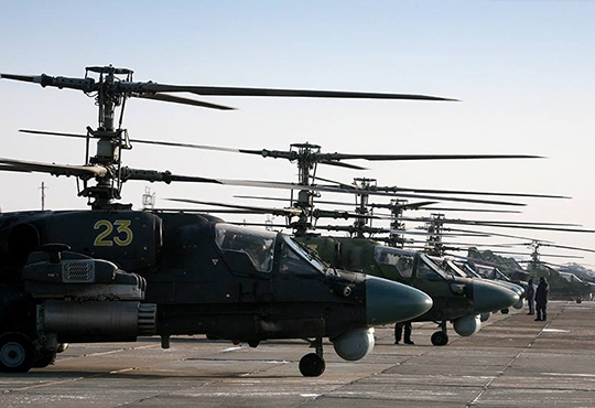 WMD Air Regiment to Receive 8 Ka-52 New Generation Attack Helicopters