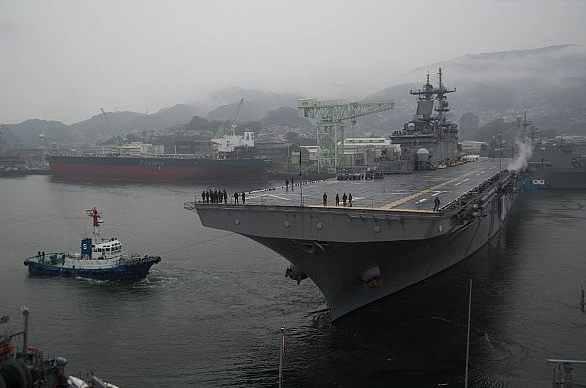 Wasp Departs Sasebo for Readiness Assessment, Regional Patrol