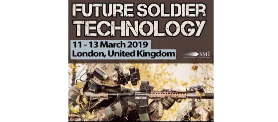 Rafael, Glenair, Persistent Systems, Fischer Connectors, BlackBox Biometrics, FN Herstal to present at Future Soldier Technology 2019