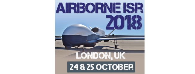 Registration Opens for the 4th annual Airborne ISR 2018 conference