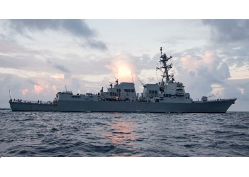 Future USS Ralph Johnson to be Commissioned in Charleston