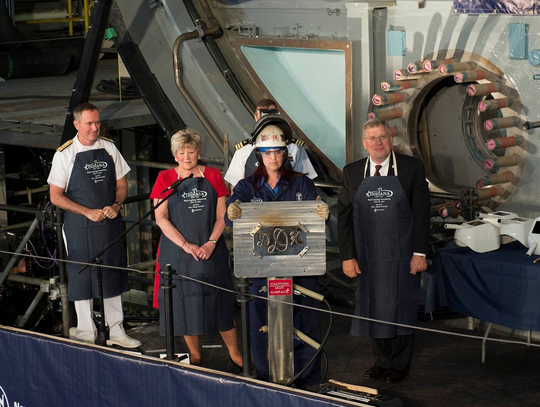 Navy Lays Keel for PCU Indiana