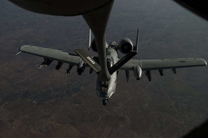 A-10s Bring Thunder, Lightning During Fight Against ISIS