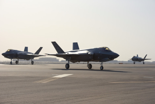 Air Force's F-35A Lightning II Arrives for First Middle East Deployment
